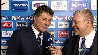 INTERVISTA A INTER CHANNEL DI WALTER MAZZARRI POST INTER-MILAN