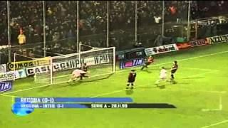 28/11/1999 - Recoba castiga la Reggina all'89'!