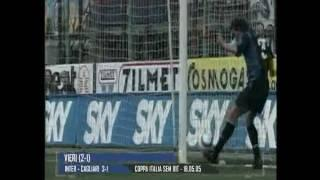 18/05/2005 - Vieri per due, Martins chiude: 3-1 e Inter in finale di Coppa