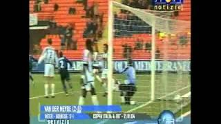21/01/2004 - Martins-VDM-Cruz: 3-1 all'Udinese in Coppa Italia