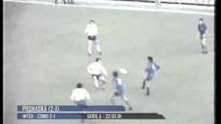 22/02/1981 - Prohaska in gran giornata: assist da fermo e super-gol, 2-1 al Como