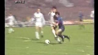 02/04/1986 - Coppa Uefa '86, tre gol al Real Madrid: 3-1