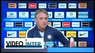 "Mancini: ""Al 60% andiamo in Europa League"""