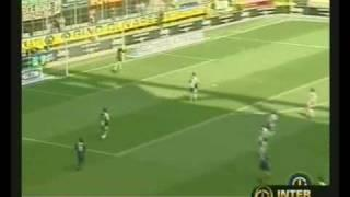 01/05/2005 - Cruz-Vieri, l'Inter batte il Siena al Meazza